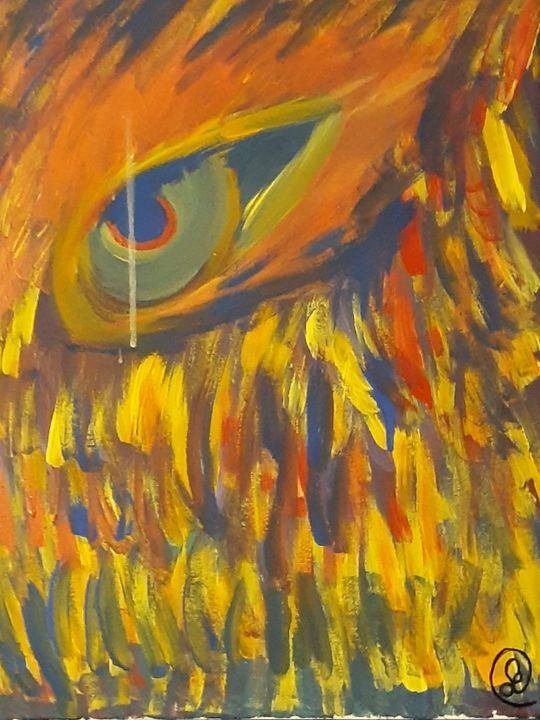 The Eye Of The Fire - Poetry and Painting