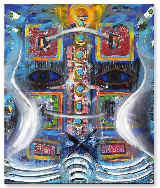 Deep Inside - Ioannis Tsaousidis paintings