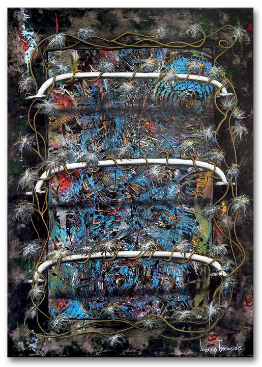 Unplanned Nr.22 - Ioannis Tsaousidis paintings