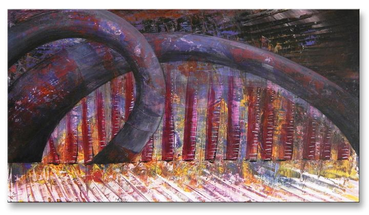 Gates Of Infinity - Ioannis Tsaousidis paintings