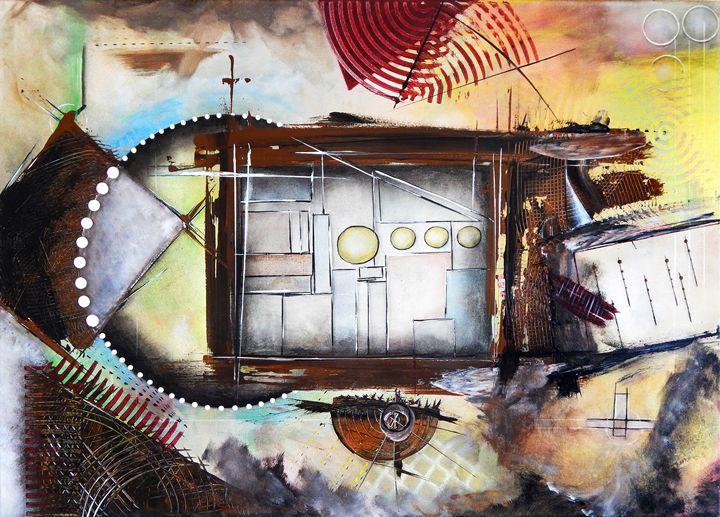 Untitled-IV - Ioannis Tsaousidis paintings