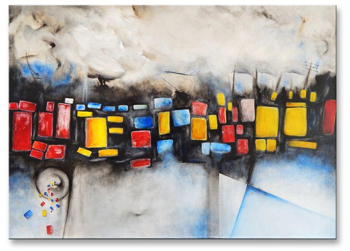 Unregulated city - Ioannis Tsaousidis paintings