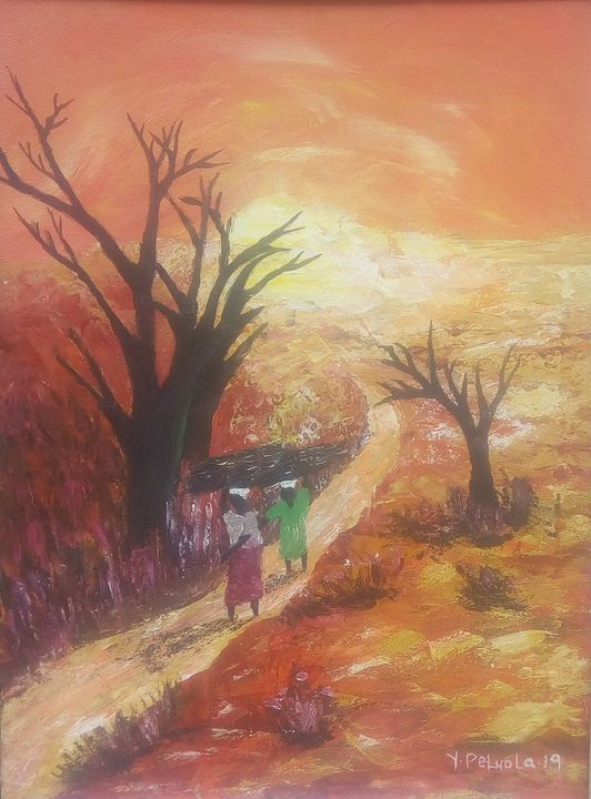 Beauty of the dry lands - Kpeluola Art Gallery
