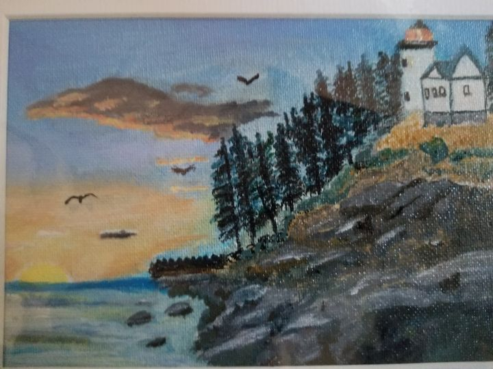 Lighthouse sunset - PCP Productions
