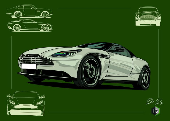 Supercar by I And G - Ink and Graphic