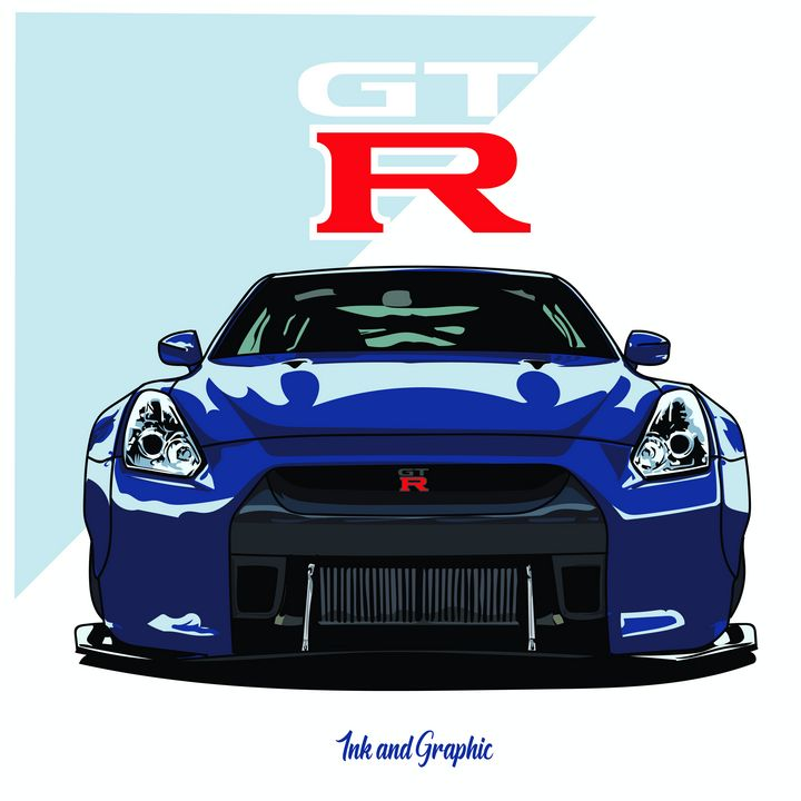 GT-R is Made for You! - Ink and Graphic