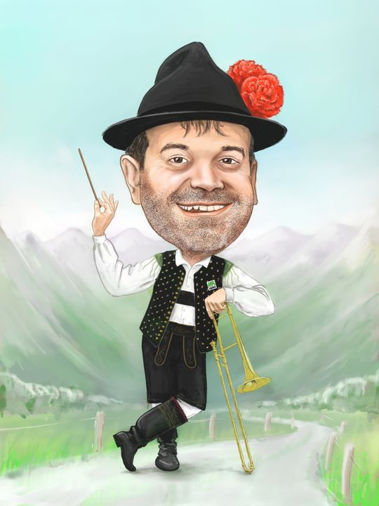 Conductor caricature - MoHoR