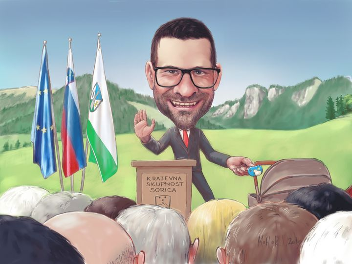 Public figure caricature - MoHoR
