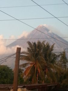 Mayon Volcano's Peak