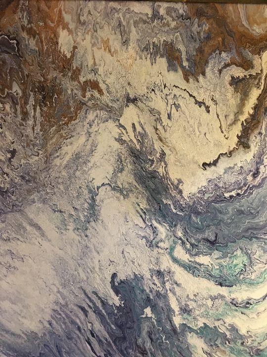 """The Golden Sky"" #62 original - Chris Link Art"