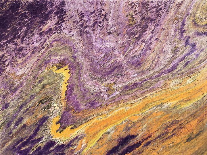 """Tie-dye"" #51 original - Chris Link Art"