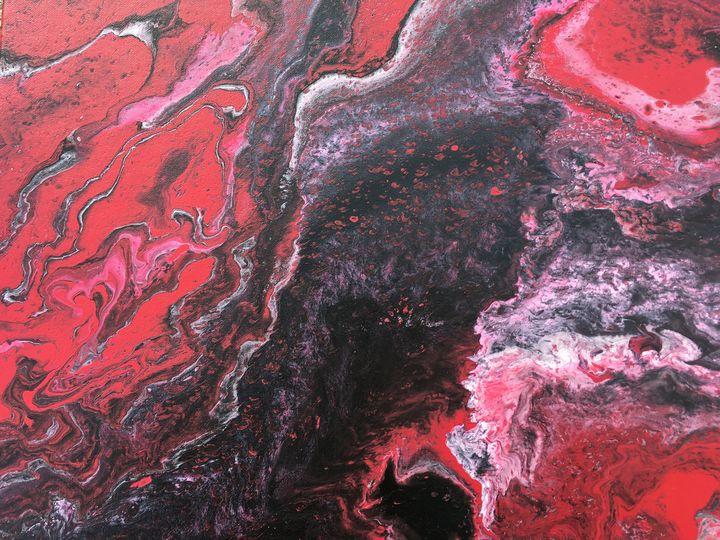 """Magma"" #79 original - Chris Link Art"