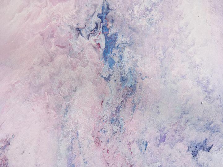 """""""Sky love"""" #82 original - Chris Link Art"""