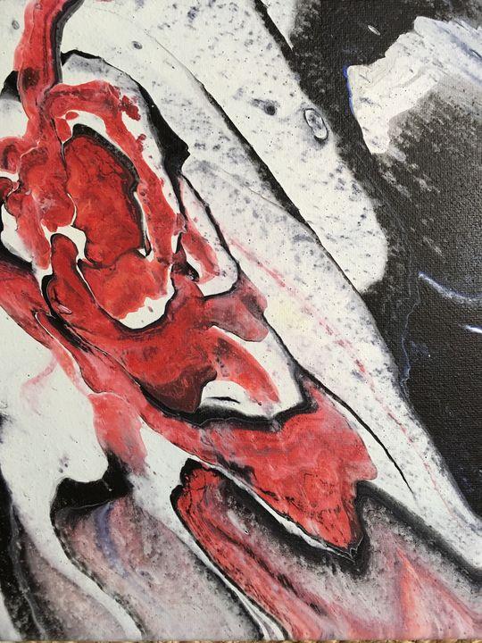 """Bullseye"" #85 original - Chris Link Art"