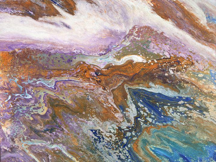 """Webb River"" #63 original - Chris Link Art"