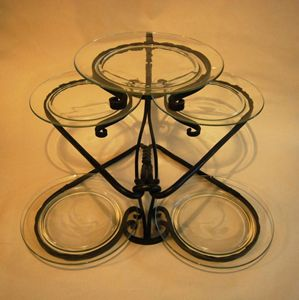 Wedding cake stand or epergne