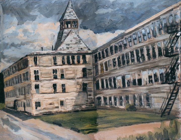 Old Shoe Factory - Nat Simkins New England Painter