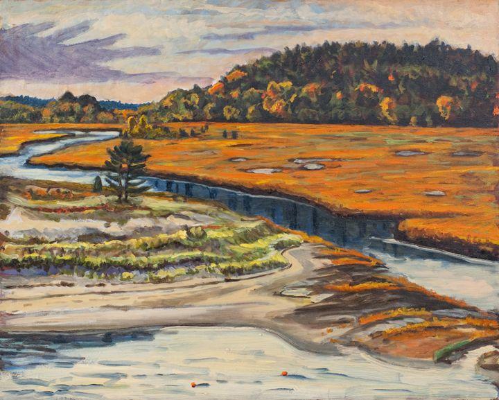 Fox Creek - Nat Simkins New England Painter