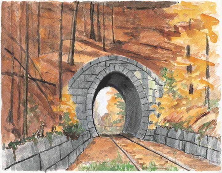 Whisper Tunnel - Nat Simkins New England Painter