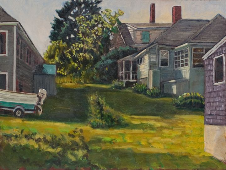 Backyards - Nat Simkins New England Painter