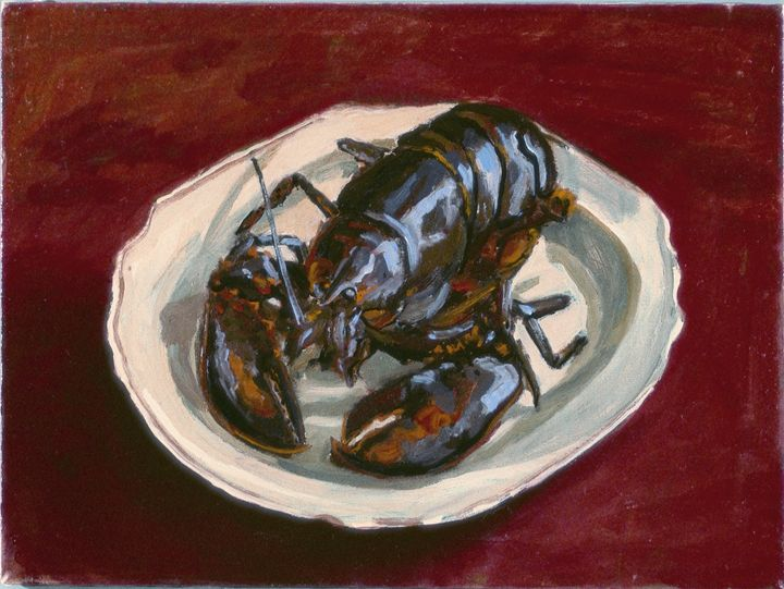 Lobster - Nat Simkins New England Painter