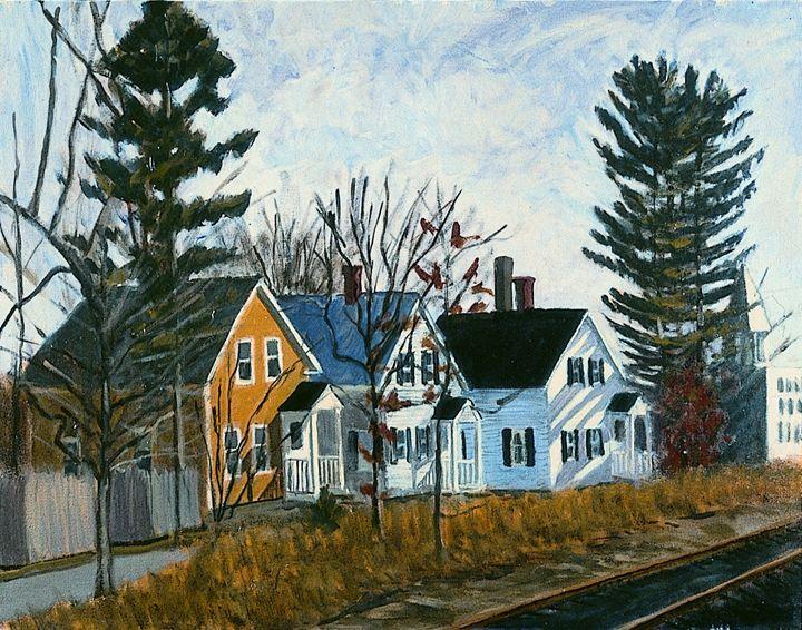 Mudville - Nat Simkins New England Painter