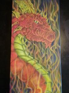 Airbrushed Dragon