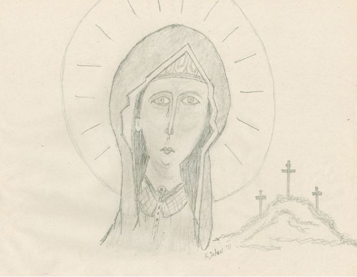 Mary Magdalene - KJohn Art