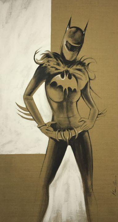 Batgirl - Rebecca Fine Art