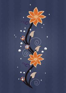 Japanese Flower Minimalist