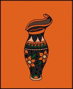 The Orange Vase