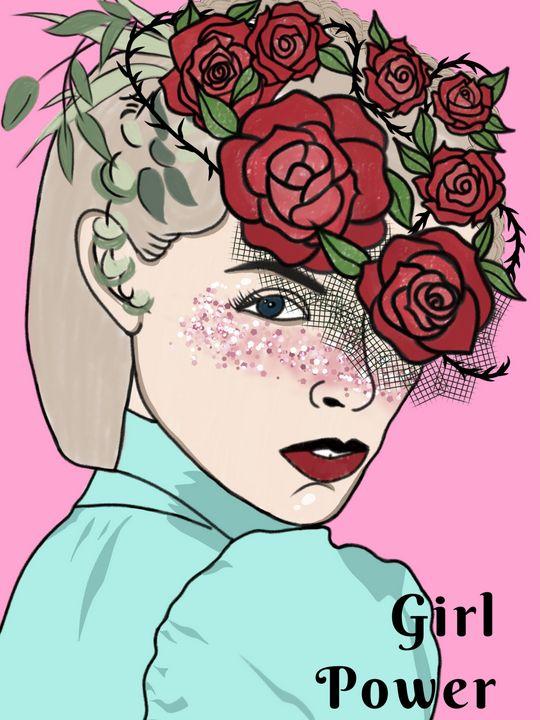 Girl Power - tiazArtDesigns