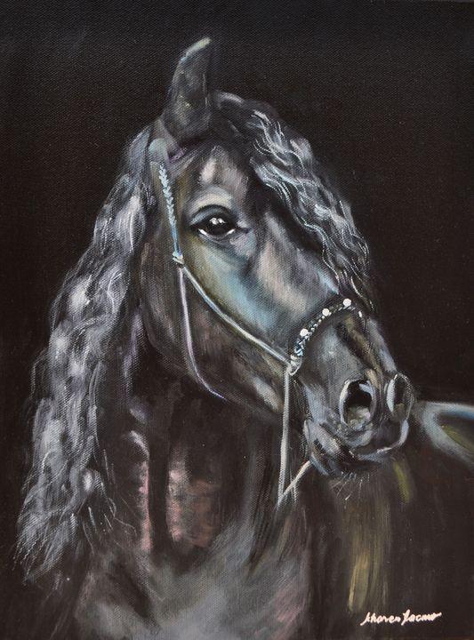 Black Horse - Kharen love arts