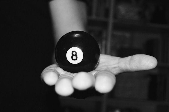 8 Billiards Ball - Samantha Tamburello