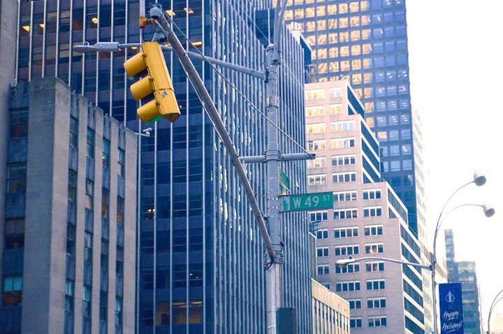 W 49th Street, New York City - Samantha Tamburello