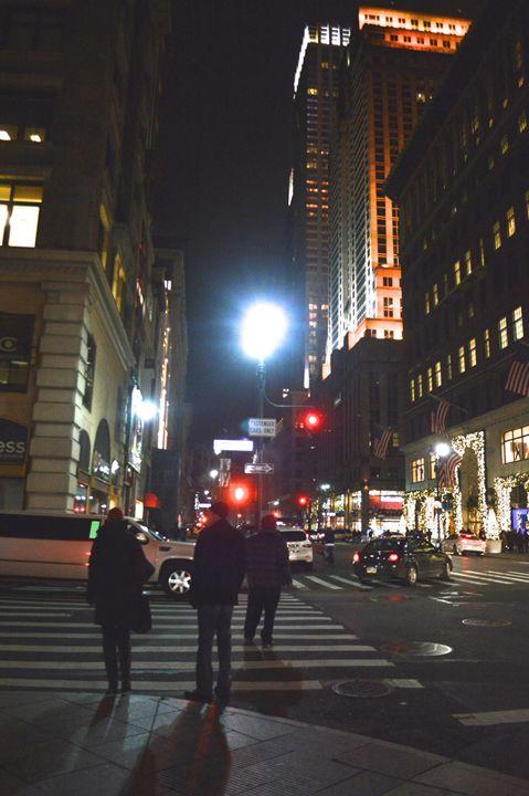 Manhattan, December 2014 - Samantha Tamburello
