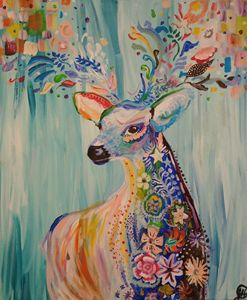 Deer Spirit - Janet Hilty