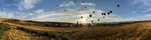 Reno Great balloon race PANORAMIC