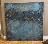 Textured Acrylic on canvas 30x30