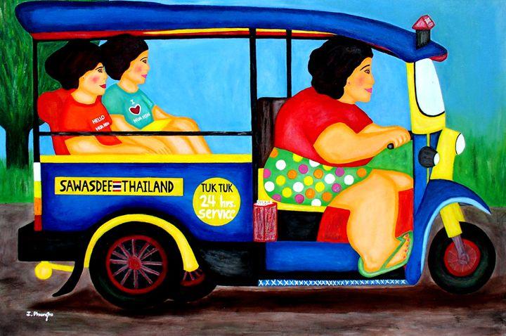 Tuk Tuk Taxi - Art Jacky Gallery