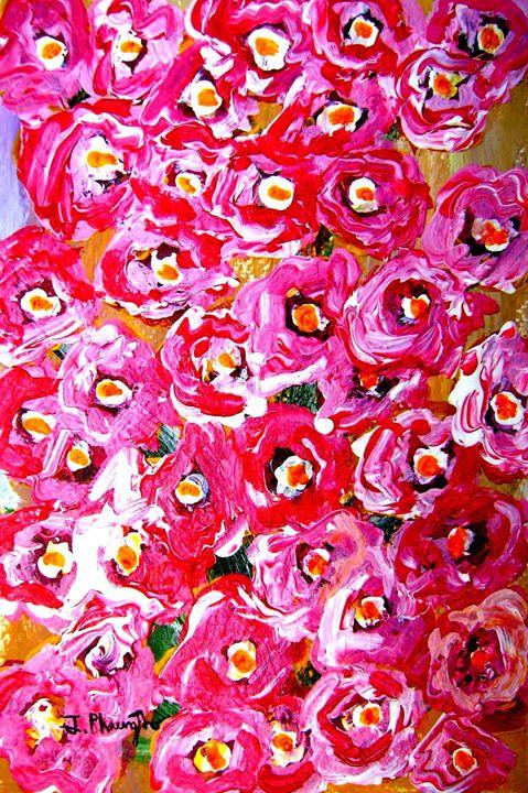 Pink Pastel - Art Jacky Gallery