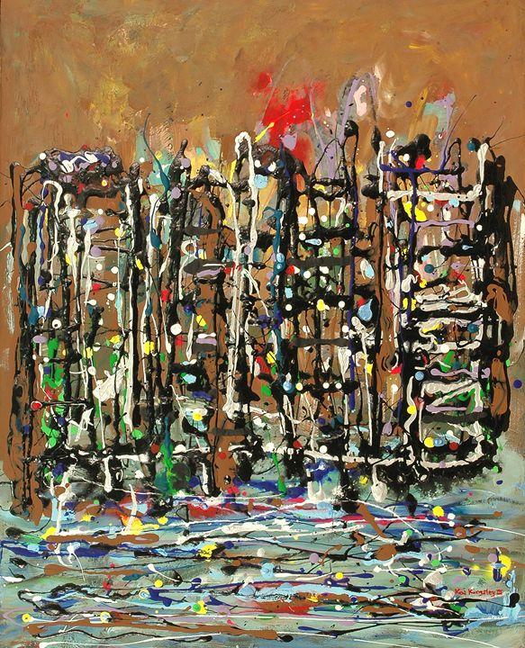 Cityscape II - Art Jacky Gallery