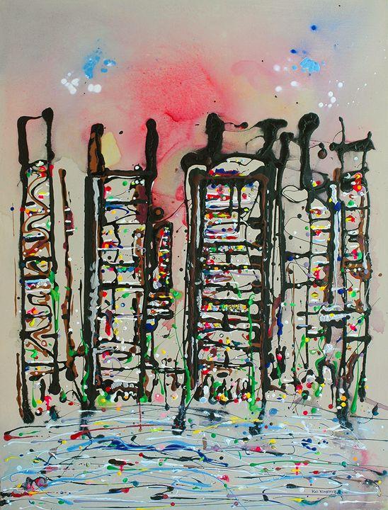Cityscape I - Art Jacky Gallery