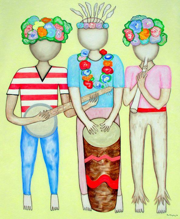 Three Musicians - Art Jacky Gallery