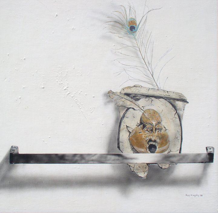 Face On A Rack - Art Jacky Gallery