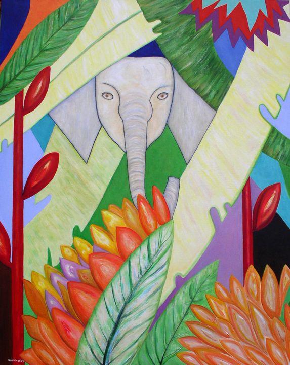 White Elephant - Art Jacky Gallery