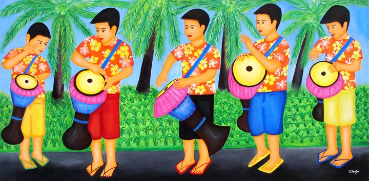 Drummer Boys - Art Jacky Gallery