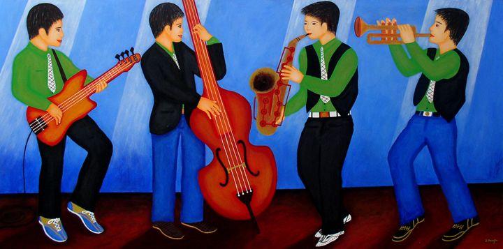 The Jazz Four - Art Jacky Gallery