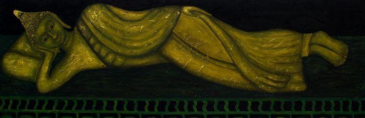 The Reclining Buddha - Art Jacky Gallery