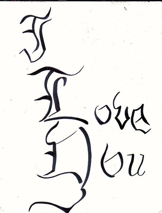 I love you -  Icsparkles23